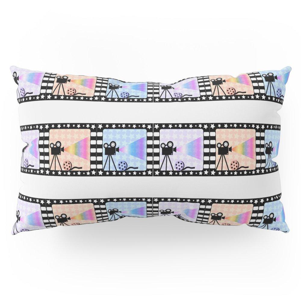 Society6 Movie Stripes Pillow Sham King (20'' x 36'') Set of 2