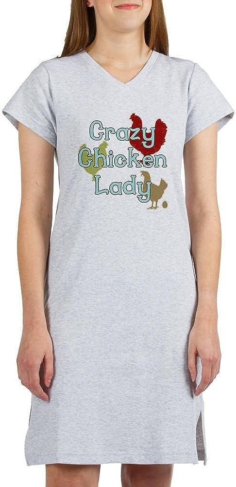 CafePress Crazy Chicken Lady Womens Nightshirt Nightshirt