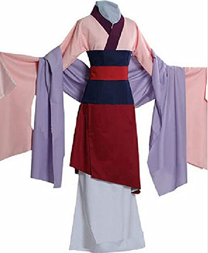 LYLAS Halloween Costume Mulan Outfit Dress (Female-S)