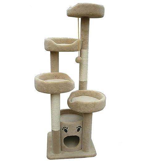 Belingeya-pet Árbol rascador para Gatos, Centro de ...