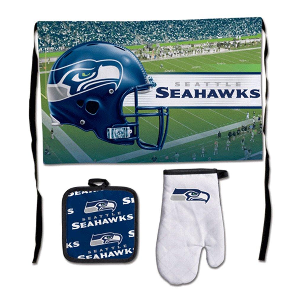 NFL Barbequeテールゲートset-premium B00GCIFDPQ  Seattle Seahawks