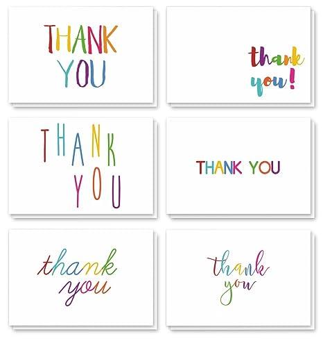 Amazon.com: Tarjetas de agradecimiento – Notas de ...