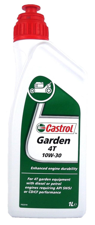 CASTROL Olio Castrol Garden 4T 10W-30 1L Lubrificanti Moto Scooter 055921