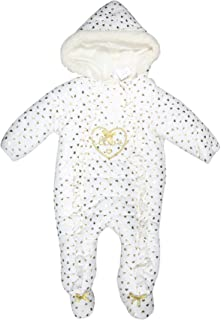 0cb6e82f6 Amazon.com  Leveret Barn Baby Snowsuit with Faux Fur (Bunting
