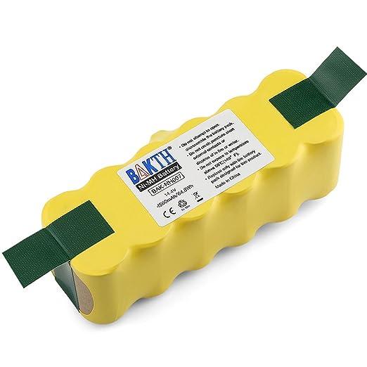 79 opinioni per BAKTH 4500mAh Replacement batteria Ni-MH per iRobot Roomba 500 510 530 531 532