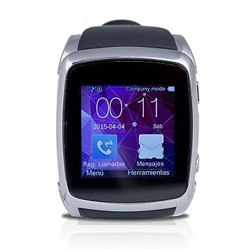 """Ghia RELOJ-1 1.54"""" TFT Negro reloj inteligente - Relojes inteligentes (3,"""