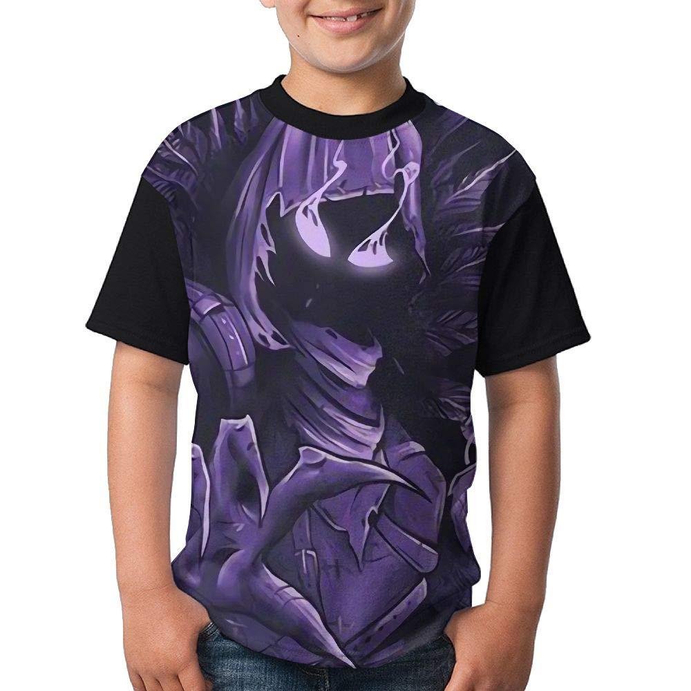 Raven Child's Boy Girl's Short Sleeve Crew Neck Funny Tee T-shirt S