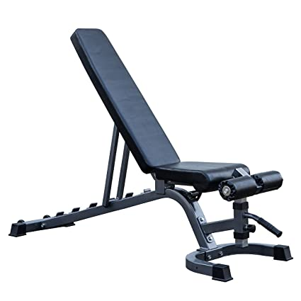 Adjustable 7 Position Weight Bench Incline Decline Home Gym Exercise Fitness