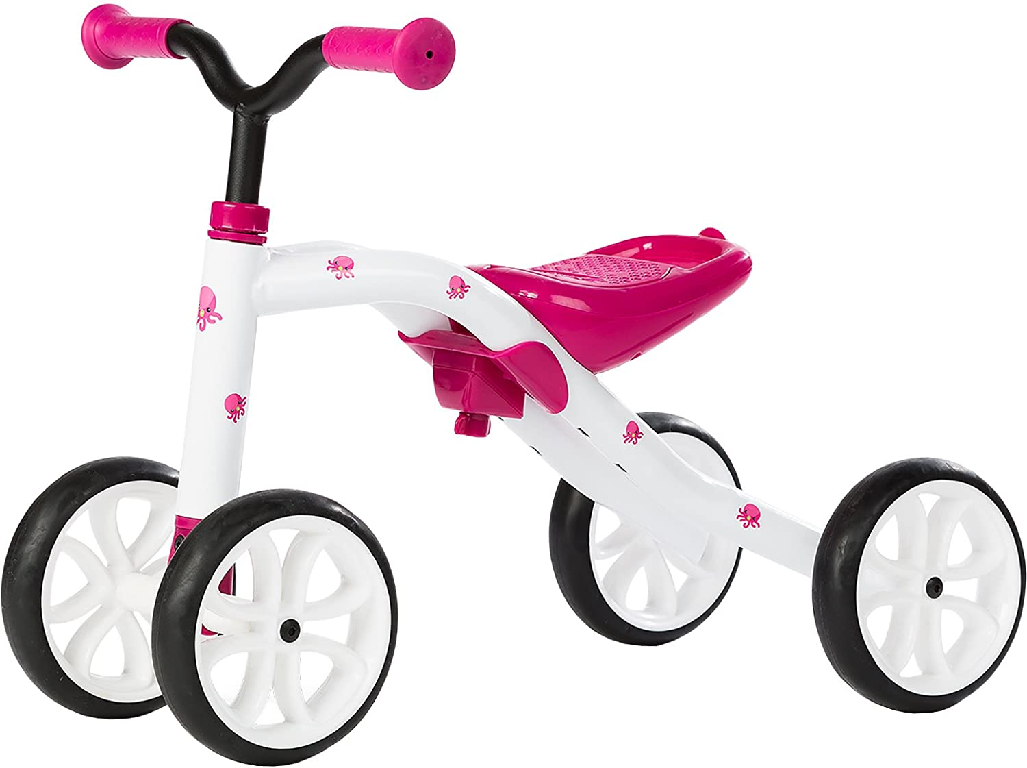 Chillafish QUADIE: 4-Wheeler Grow-with-Me Ride-On Quad, Pink LTD NWS Europe The Chillafish Company NV CPQD01PIN