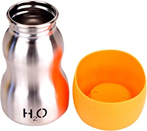 H2O4K9 Stainless Steel Dog Water Bottle and Travel Bowl,