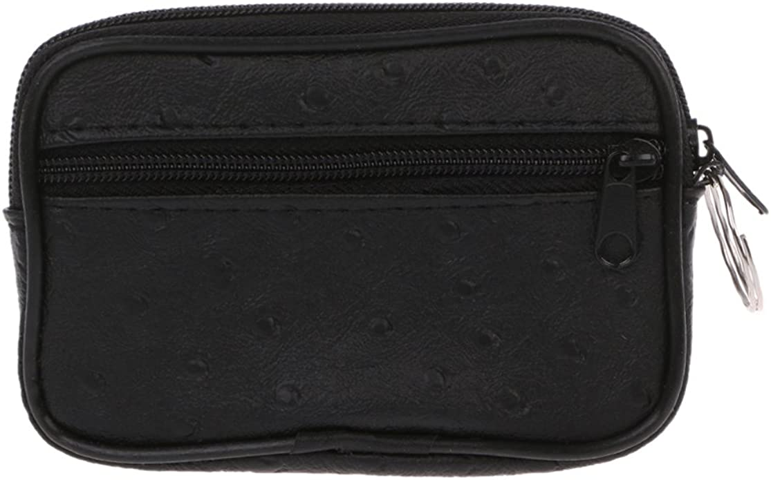 Checkbook wallet Leather Check book cover Credit card wallet zip change purse BN