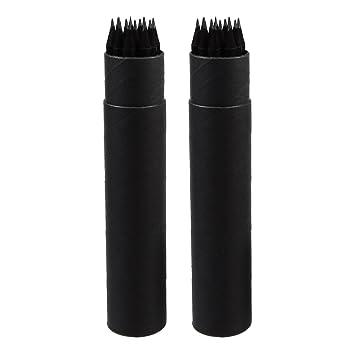 Bleistifte Schwarz Durchgefärbt Rund Pappköcher Härte HB