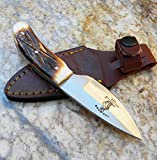Collectors Knives Bone Collector Hand Made Skinning / Hunting Knife BC808