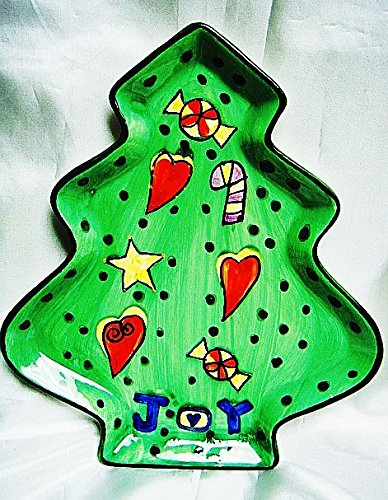 Amazon Com Cib Festive Tree 8 Vintage Ceramic Christmas Tree