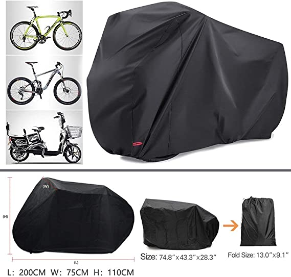Funda para Bicicleta Impermeable, Massway Cubierta Bicicleta ...