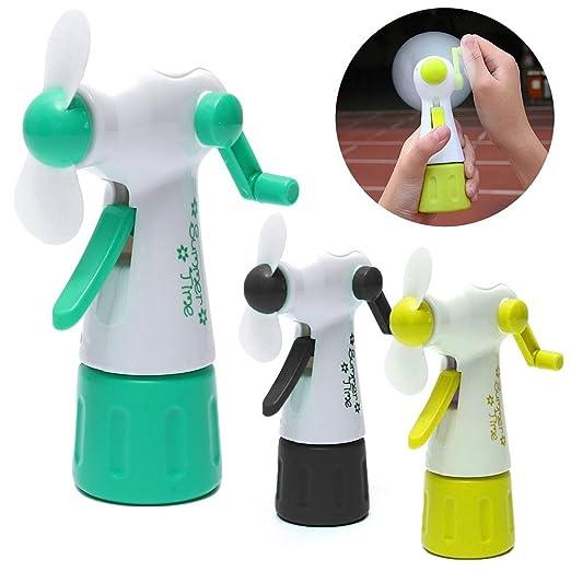 Mini Portable GIRAFFE FAN Kids Handheld Wind Up Christmas Stocking Filler Toy