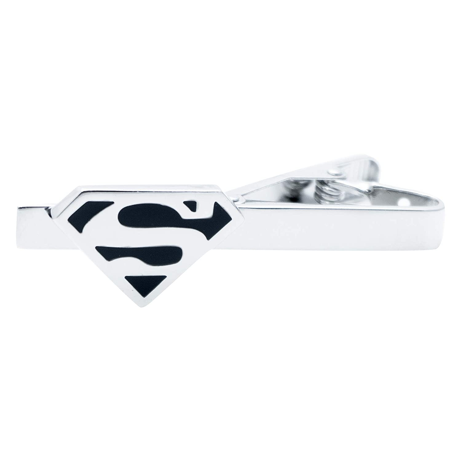 FunkyCufflinks Superman - Alfiler de Corbata con inscripción en ...