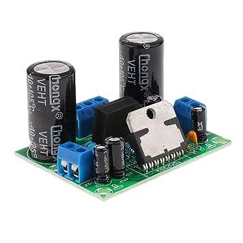 TDA7293 Amplificador Digital de Audio AMP Placa Mono Canal AC 12-32V 100W: Amazon.es: Electrónica