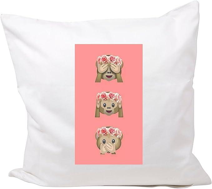 Pillowcase 40x40 cm Smiley Happy Faces