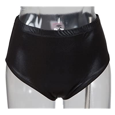 Metallic Briefs Black