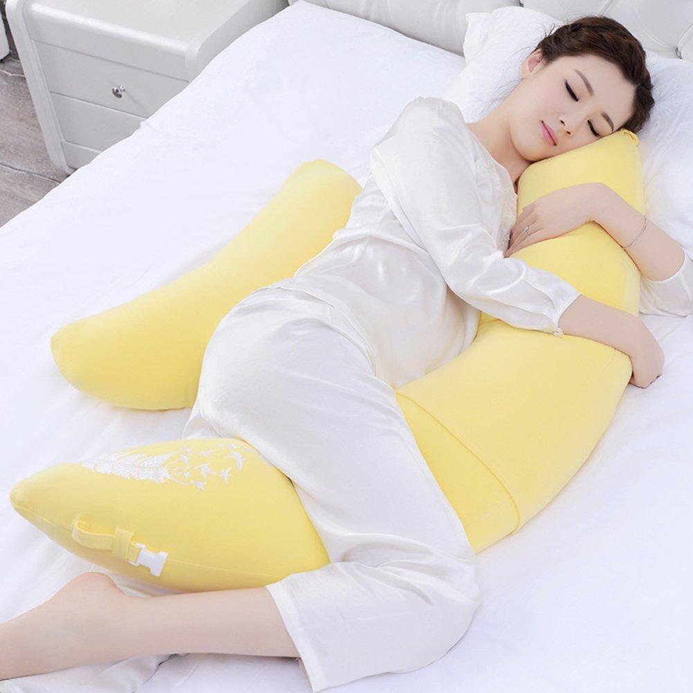 JGXVUYKDFV Schwangerschaft Kissen/multifunktionale Kissen für Schwangere Frauen/gürtel Kissen/Side Sleeping Kissen/Belly Kissen/schlafen auf der Seite des Kissen-E