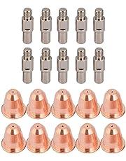 20Pcs PR0110 PD0116 Cortador de plasma Antorcha Boquilla Electrodo 0.8mm Consejos para S25K S45