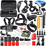 Erligpowht Common Outdoor Sports Kits for GoPro Hero 4/3+/3/2/1 Cameras and Sj4000/Sj5000 Cameras In Swimming Camping Diving Outing Any Other Outdoor Sports