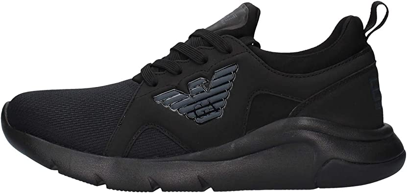 Emporio Armani EA7 Men Sneakers Black