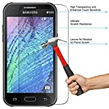 Red Qube Hammer Proof Fiber Tempered Screen Protector with Oleophobic Coating for Samsung Galaxy J1 4G (2017)