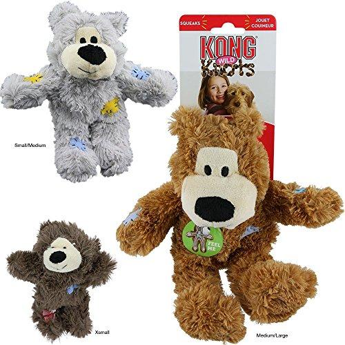 KONG WildKnots Bears Dog Toy XS Size [Misc.]
