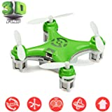 Goolsky CX-10 Mini 2.4G 4CH 6 Axis LED RC Quadcopter Toy Helicopter