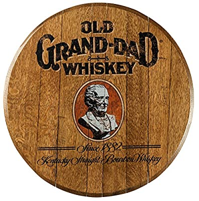 Bourbon Barrel Head -- Old Grand-Dad from A Taste of Kentucky