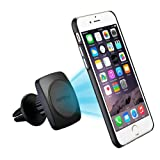 Car Phone Holder, Mpow MagGrip 360 Degree Swivel Air Vent Magnetic Universal Car Mount Phone Holder Cradle for iPhone 7/7 Plus/6/6s Plus/5S/SE, Samsung S6/S5 Note 5/4/3, LG, Sony, Huawei and Other Smartphone