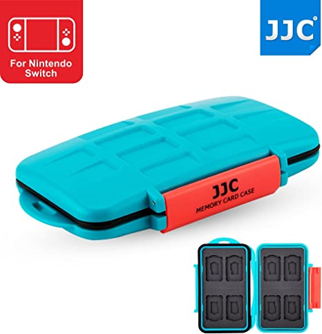 JJC Nintendo Switch Game Card Case vídeo juego for 8 x Nintendo ...