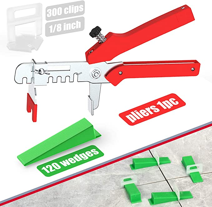 Like Building Walls /& Floors. Reusable Tile Installation Tool Kit for Construction 2 Special Wrenches MINGPINHUIUS Premium Tile Leveling System Kit with 50pcs Tile Leveler Spacers