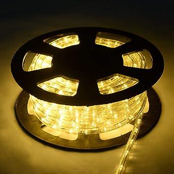 847cc56aff8 COSTWAY 30M Luz Manguera 1080 LED Luces de Navidad Fiesta Jardín Hogar  Decoración para Exterior Interior