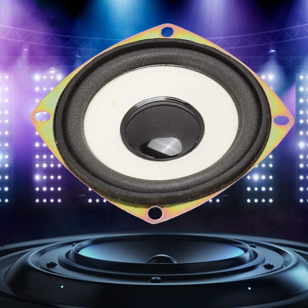 Pusokei Altoparlante Audio a frequenza Piena da 3 Pollici Altoparlante 4ohm 5W Suono Surround Stereo ad Alta sensibilit/à per Cassa di risonanza multimediale