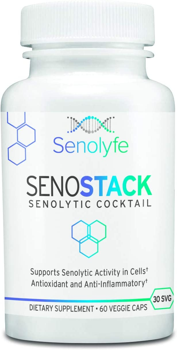 SenoStack Senolytic Flavonoid Cocktail