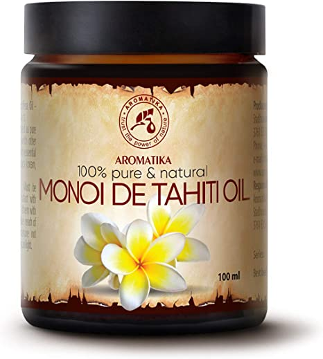 Tahitian Monoi Oil 100ml France Cocos Nucifera Oil Gardenia Tahitensis Flower Extract Amazon Co Uk Health Personal Care