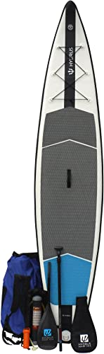 Premium Inflatable Paddle Board Package Plus High End Carbon Fiber Paddle