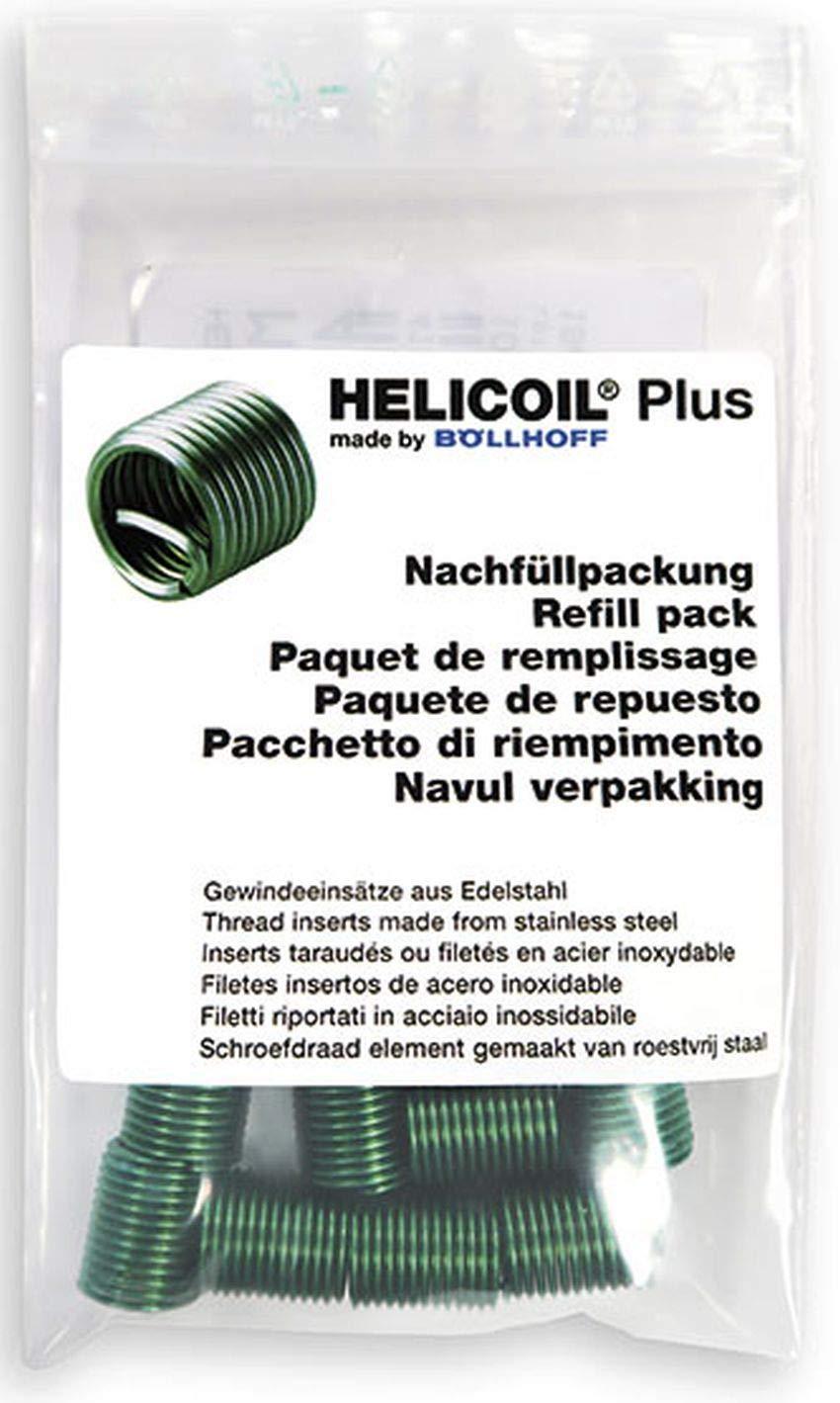 HELICOIL Plus Gewindeeins/ätze Nachf/üllpackung M6x12 P1 metrisch 20 St/ück
