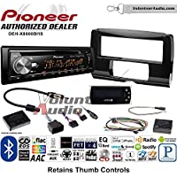 Volunteer Audio Pioneer DEH-X8800BHS Double Din Radio Install Kit with Bluetooth, HD Radio, Siruis XM Ready, USB/AUX Fits 2014-2016 Electra Glide, Road Glide, Street Glide
