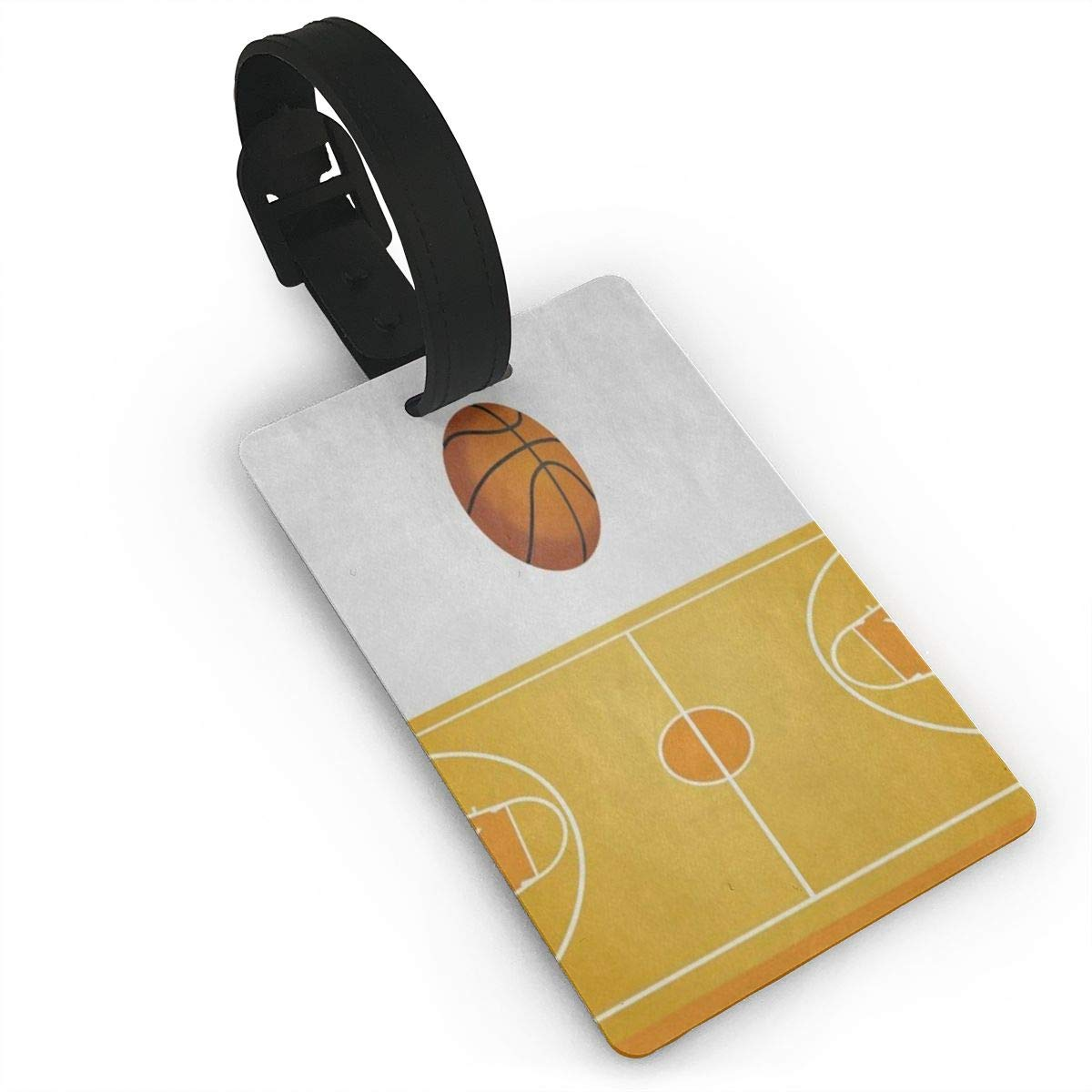 Luggage Tags 3D Basketball Court Bag Tag for Travel 2 PCS