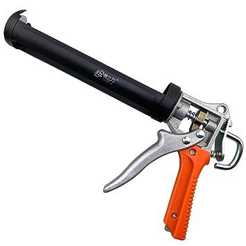 1x pistola para calafatear para trabajos pesados negro 35 cm x 20 cm JJPRIME