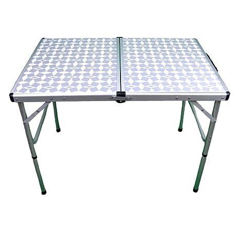 Mesa de Camping Plegable de aluminio-Cocovery19: Amazon.es ...