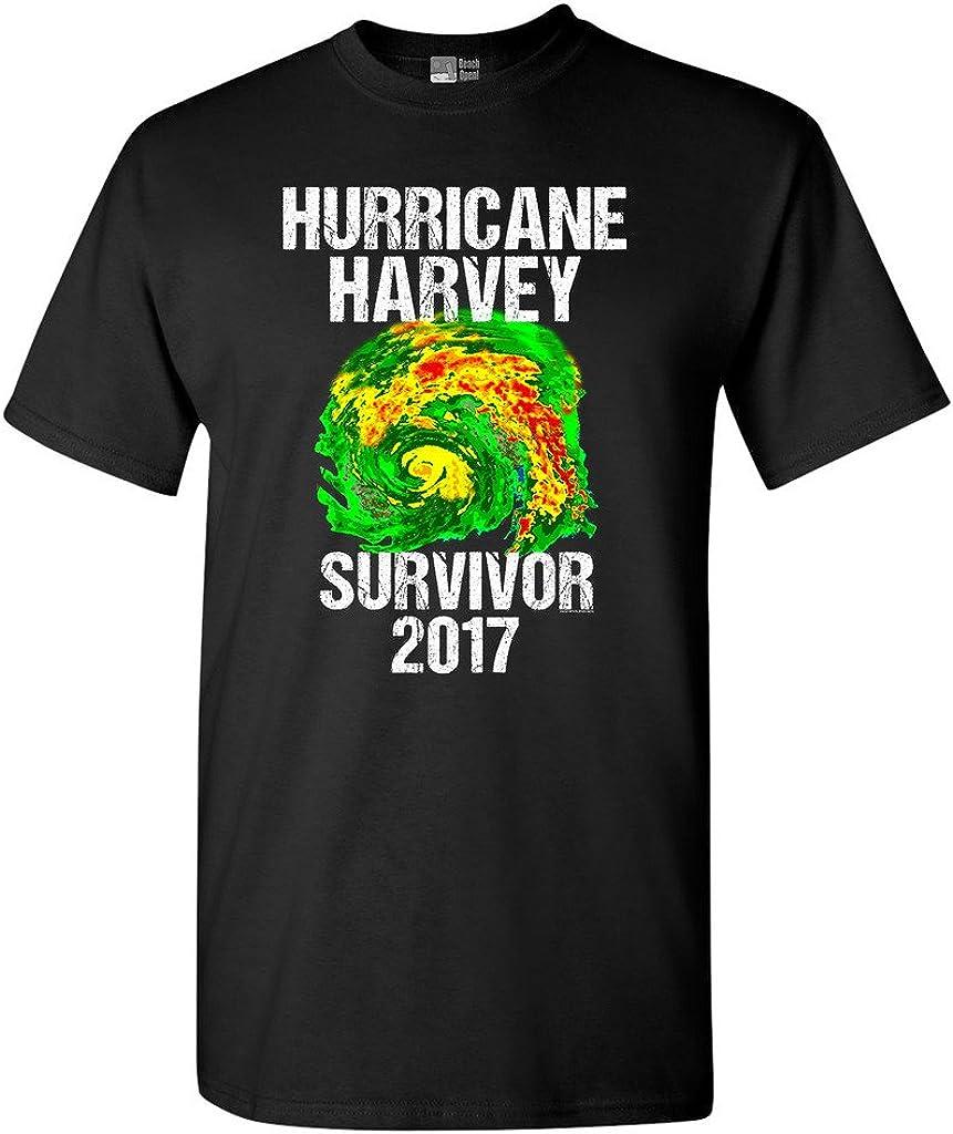 Hurricane Harvey Storm Survivor Houston Texas 2017 DT Adult T-Shirt Tee