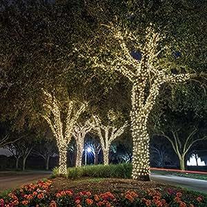 Ora LED Solar Powered Waterproof String Lights, 100 LED's 55 feet