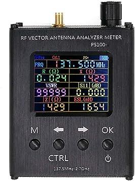 Analizador de Antena N1201SA UV RF Impedancia Vector Ant SWR Probador de medidor de 140 MHz – 2,7 GHz (versión en inglés)