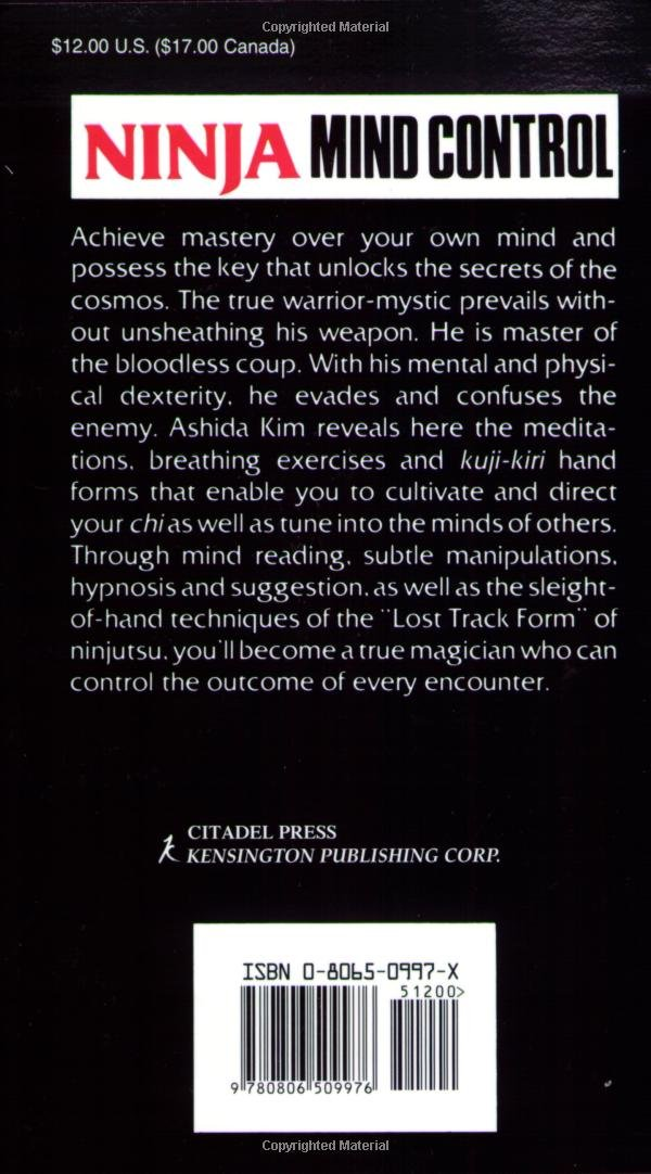 Ninja Mind Control: Amazon.es: Ashida Kim: Libros en idiomas ...