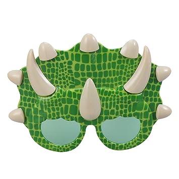 Amosfun Triceratops Gafas de Sol Fiesta de la Novedad Gafas Gafas ...